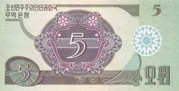KOREA P. 28 5 W 1988 UNC - Corée Du Nord