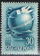 DO 6558 HONGARIJË SCHARNIER YVERT NR 896 ZIE SCAN ! - Hongrie