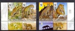 Nal003 WWF FAUNA WILDE KAT ROOFKAT  WILD CAT KATZE Persischer Leopard ISRAËL 2011 PF/MNH - Ongebruikt