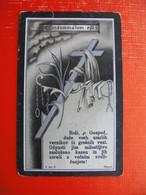 V Spomin In Molitev Se Priporoca Ivanka Zurbi - Images Religieuses