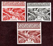 Série Victoire Réunion ,Guadeloupe,Madagascar ND  N** LUXE Cote 62 Euros !!!RARE - 1946 Anniversaire De La Victoire