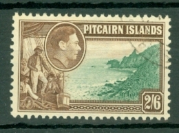 Pitcairn Is: 1940/51   KGVI    SG8     2/6d     Used - Stamps