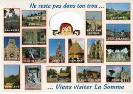 VIENS VISITER LA SOMME - RAMBURES - ST RIQUIER - DOULLENS - AMIENS - ALBERT - CORBIE - VALLOIRES - ABBEVILLE - PERONNE - France