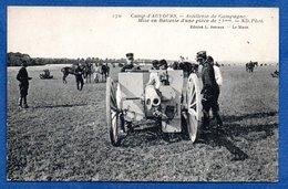 Canon De 75  --  Au Camp D Auvours - Ausrüstung
