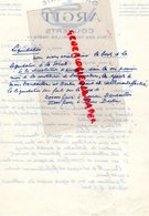 75- 4 EME- PARIS- RARE LETTRE LIQUIDATION  ORFEVRERIE ARGIT-COUVERTS-17 RUE DES TOURNELLES-  1936 - Petits Métiers