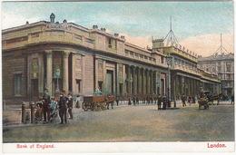 2x POLICEMAN / BOBBY : Bank Of England - London - Horses, Cart, Coach - Politie-Rijkswacht