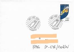 Enveloppe Premier Jour JO Hiver Salt Lake City Cachet Commémo Albertville Bobsleigh - Winter 2002: Salt Lake City