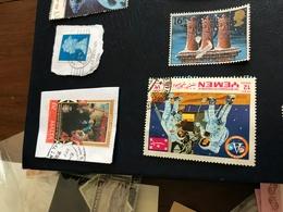YEMEN CONQUISTA SPAZIO - Stamps