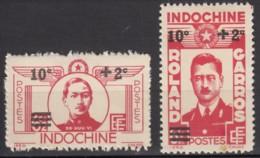 N° 276 Et N° 277 - X - ( C 1628 ) - Indochine (1889-1945)