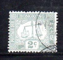 R1350 - HONG KONG , Yvert N. 6 Usato - Hong Kong (...-1997)