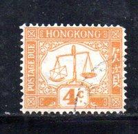 R1351 - HONG KONG , Yvert N. 4 Usato - Hong Kong (...-1997)