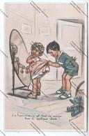 Cpa Humoristique Illustration Germaine BOURET : Les Hommes C'est Tout De ^même Bon à Quelque Chose ! - Bouret, Germaine