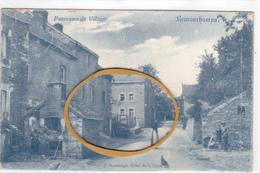 """REMOUCHAMPS - Aywaille  Acp Edit J.Massange  """" Centre Du Village """" Ecrite En 1907  Voir Scans - Aywaille"""