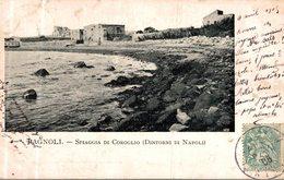 BAGNOLI SPIAGGIA DI COROGLIO DINTORNI DI NAPOLI - Napoli