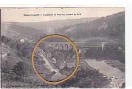 """REMOUCHAMPS - Aywaille  Acp """" Panorama Et Pont Du Chemin De Fer Edit DESAIX  """" Pas écrite   Voir Scans - Aywaille"""