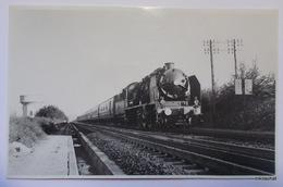 Train à LERY-POSES-Photographie Format CPA - Autres Communes