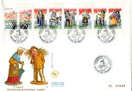 Bande Carnet 2982 Santons De Provence - FDC - GFD 58 - Conmemorativos