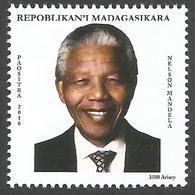 Madagascar Madagaskar 2016 Nelson Mandela Madiba Nobel Peace Prize MNH Mint - Nobelprijs