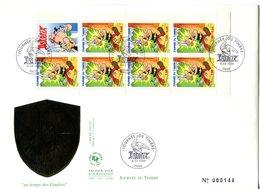 Bande Carnet 3227 Asterix Le Gaulois - FDC - GFD 59 - Giornata Del Francobolli