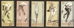 Burundi 1964 Yvertn° 75-79 (°) Oblitéré Used Cote 2,25 Euro Jeux Olympiques D'hiver Innsbruck - 1962-69: Used