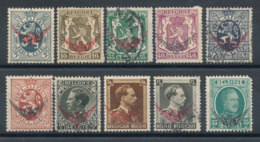 Belgique - Lot De 10 Timbres De Service - Dienstzegels