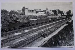 Train à MAISONS LAFFITTE-Photographie Format CPA - Maisons-Laffitte