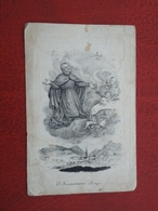 Azemia Gheerbrant - Castelein Geboren Te Wacken 1811 En Overleden Te Meenen 1843  (2scans) - Religion & Esotérisme