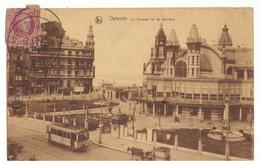 CPSM. Belgique. Ostende. Le Kursaal Vu De Derrière.Timbre Et Cachet. 1925. - Oostende