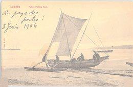 CEYLON COLOMBO NATIVE FISHING BOAT - Sri Lanka (Ceylon)