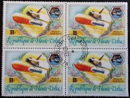 RÉPUBLIQUE DE HAUTE-VOLTA (Oblitéré Ouagadougou 1983) Poste Aérienne Challenger 4 Valeur 90F Voir Scan - Upper Volta (1958-1984)