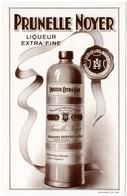 Buvard Prunelle Noyer, Liqueur Extra Fine. Saint-Amand (Cher). - Liqueur & Bière