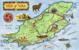 MAPS - SALMON 1-07-00-02 THE ISLE OF MAN - MAISIE PECK - Maps