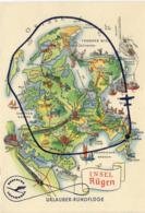 MAPS - INSEL RUGEN - URLAUBER RUNDFLUGE - Maps