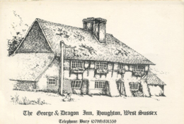 SUSSEX - HOUGHTON - THE GEORGE & DRAGON INN - Other