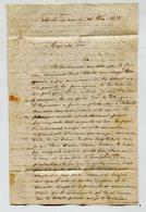 BELLE ILE EN MER Prisonnier Insurrection Du 15 Juin 1849 - 2 Lettres S. Grill - Documents Historiques