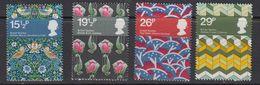 Great Britain 1982 British Textiles 4v ** Mnh (41289) - Maximumkaarten