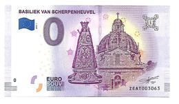 BASILIEK VAN SCHERPENHEUVEL  (billet 0 Euro)   2018 . 1 - EURO