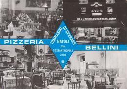 NAPOLI Pizzeria Restaurant Ristorante Bellini - Insegna Birra Nastro Azzurro - Napoli (Naples)