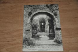 5979-  ABBAYE DE VILLERS, LE CHOEUR DE L'EGLISE, VUE PRISE DU PORCHE - Religions & Croyances