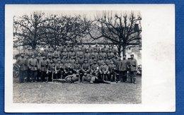 Carte Photo  -  Soldats Allemands - War 1914-18
