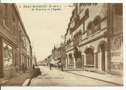 62 - BILLY MONTIGNY / RUE DE ROUVROY ET L'APOLLO - Other Municipalities