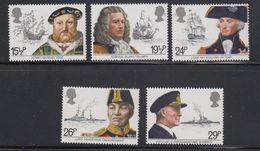 Great Britain 1982 Maritime Heritage 5v ** Mnh (41289D) - 1952-.... (Elizabeth II)