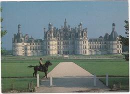POLICE: Chambord - Le Chateau - GENDARME à CHEVAL Patrouilant Dans Le Parc - (Loire-et-Cher) - France - Politie-Rijkswacht