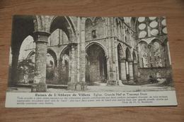 5983-  RUINES DE L'ABBAYE DE VILLERS, EGLISE, GRANDE NEF.......... - Religions & Croyances