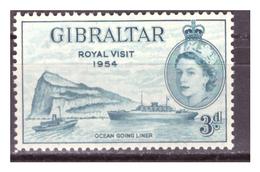 GIBILTERRA - 1954 - ROYAL VISIT. - MH* - Gibilterra