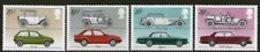 Great Britain 1982 Britsh Cars 4v ** Mnh (41289G) - 1952-.... (Elizabeth II)