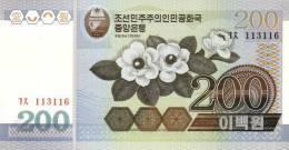 KOREA P. 48a 200 W 2005 UNC - Korea, Noord
