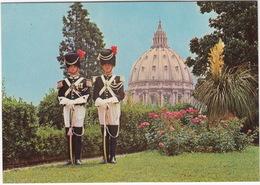 POLICE: Città Del Vaticano - GENDARMI PONTIFICI - Gendarmes Pontificaux - Pontificial Gendarmes - Giardini Vaticani - Politie-Rijkswacht