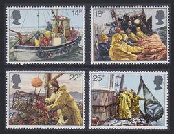 Great Britain 1981 Fishing Industry 4v ** Mnh (41289I) - 1952-.... (Elizabeth II)