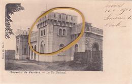 """VERVIERS  Série 10 N°7  Environs  Edit VANDERAUWERA  """"Le Tir National  """" écrite +/- 1901  Voir Scans - Verviers"""